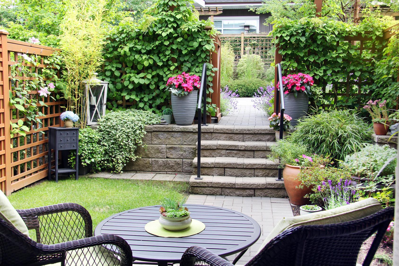 Mediterrane Gartengestaltung Galabau Fritz